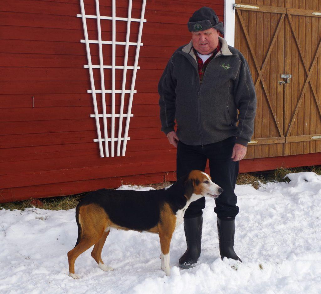 Fin. Frotmyrtorpets Cindy-10 och Sven-Åke Grönvik Foto Gunilla Grönvik