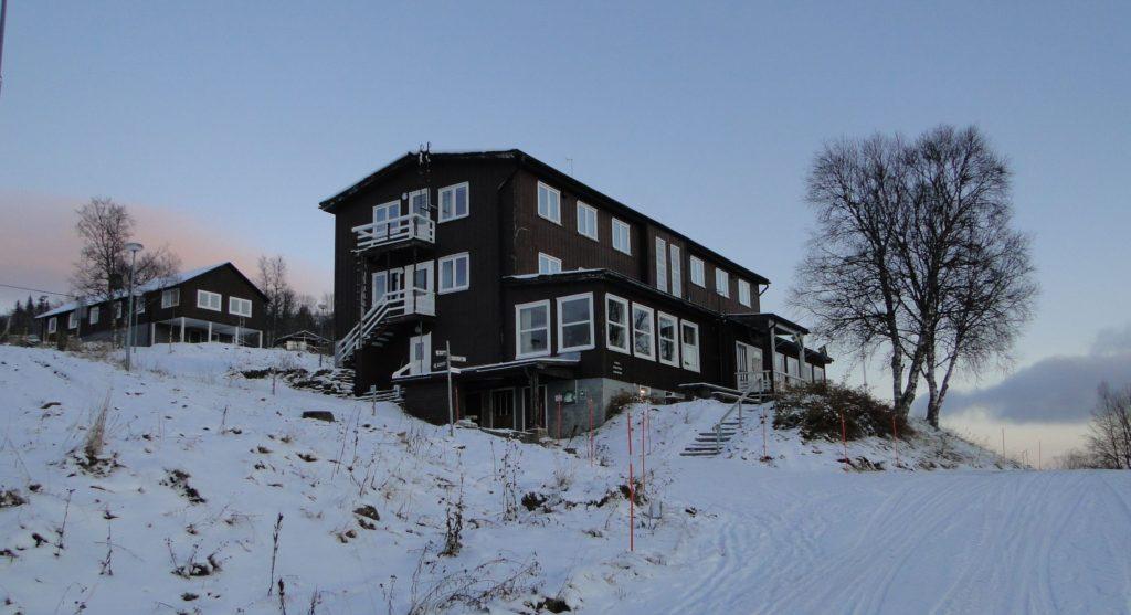 Kolåsens Fjällhotell med annex och huvudbyggnad
