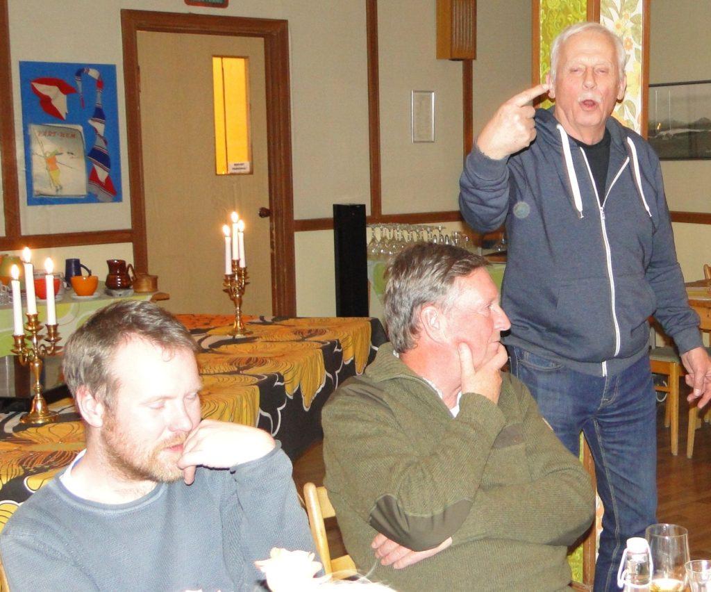 Jimmie Guttormsson, Jan Swartström och Karl Schiller