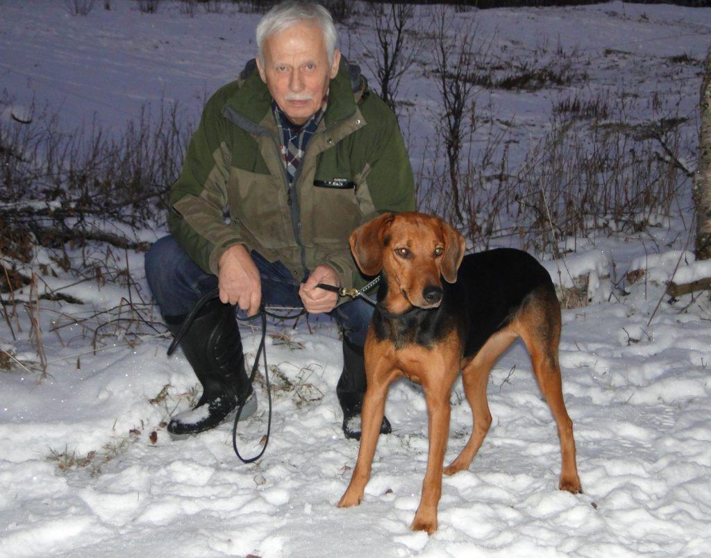 Sch. Silverstövarens Cindy-12 och Karl Schiller
