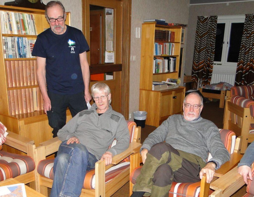 Ivan Myhr, Göran Blixt och Jan-Erik Wickenberg