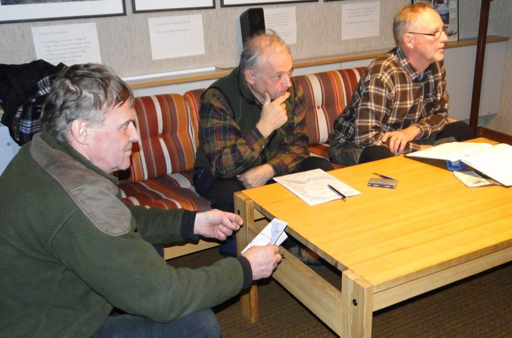 Rasmus Olsson, Jörgen Widegren och Mats Eriksson