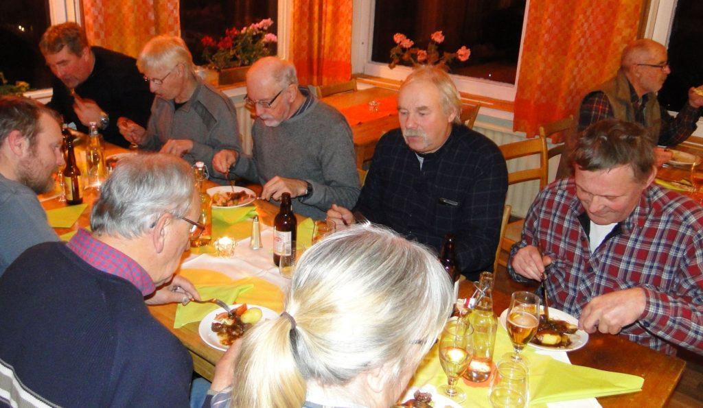 Per Roos, Göran Blixt, Jan-Erik Wickenberg, Curt Alstergren och Rasmus Olsson