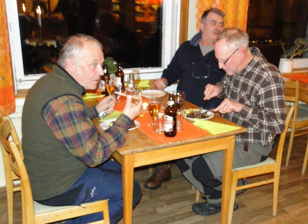 Jörgen Widegren, Emanouil Strantzalis och Mats Eriksson