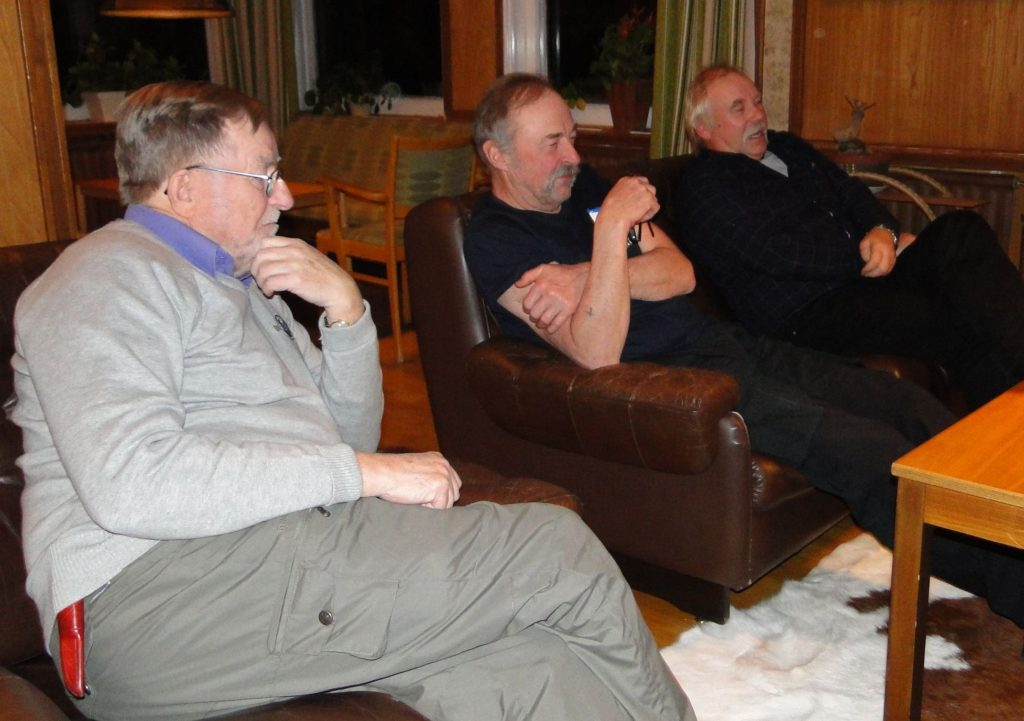 Carl-Gunnar Hågnäs, Ivan Myhr och Curt Alstergren