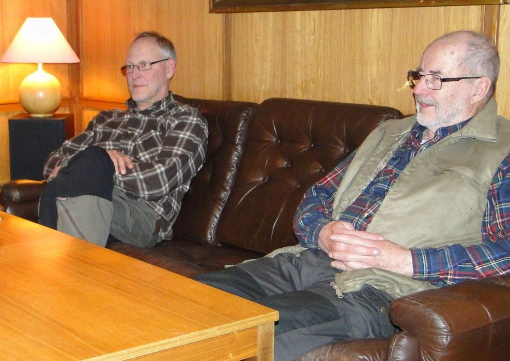 Mats Eriksson och Dennis Sjöö