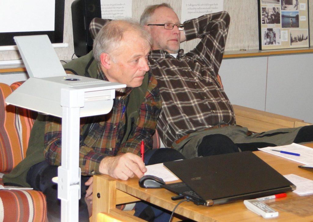 Bestyrelsen - Jörgen Widegren och Mats Eriksson