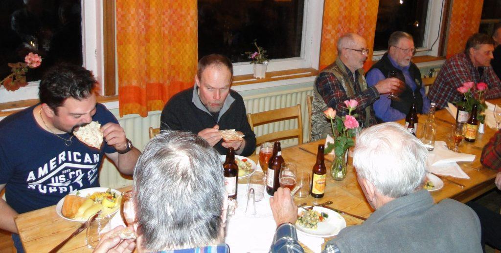 Fredrik Nordin, Bertil Andersson, Dennis Sjöö, C-G Hågnäs och Rasmus Olsson