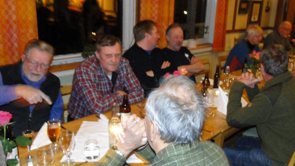 C-G Hågnäs, Rasmus Olsson, Per Roos, Ivan Myhr, Göran Blixt och J-E Wickenberg