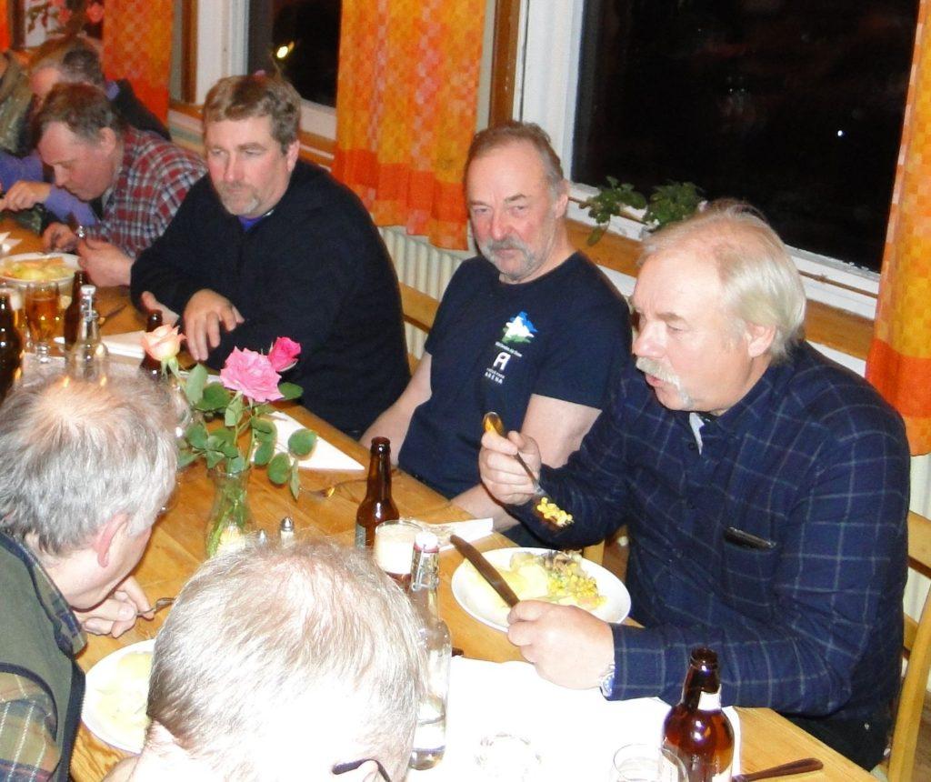 Rasmus Olsson, Per Roos, Ivan Myhr och Curt Alstergren